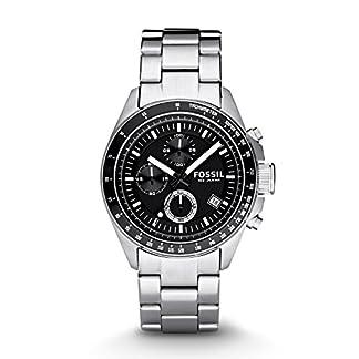 Fossil CH2600IE – Reloj de Acero Inoxidable para Hombre, Negro