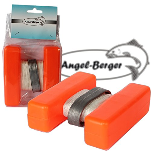 Angel-Berger H Boje Futterplatz Markierungen Marker Groß (Rot, Standard) - Angeln Boje