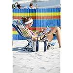 Vinsani® 4, 5, 6, 8, 10 POLE BEACH HOLIDAY CARAVAN CAMPING WINDBREAK TALL WINDBREAKERS 8