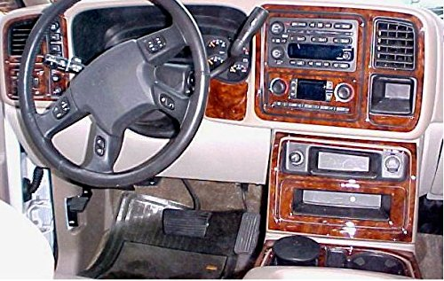 Chevrolet Chevy Avalanche Innen Burl Wood Dash Trim Kit Set 2003 2004 2005 2006