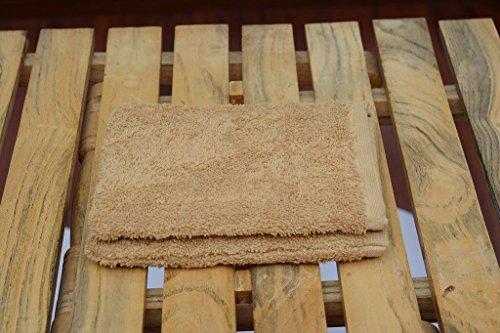 John Mercer Luxus, 100% Baumwolle-Super Weich, 650GSM, 2PCS-Face Mitt Sand Storm Face Mitt
