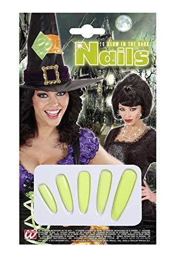 Widmann Kostüm Set - Verkleidung - Karneval - Halloween - Hexe - Megera - MAGA - Farbe Multicolor Five Nails - Erwachsene - Frau - Mädchen (Halloween Ideen Nails)