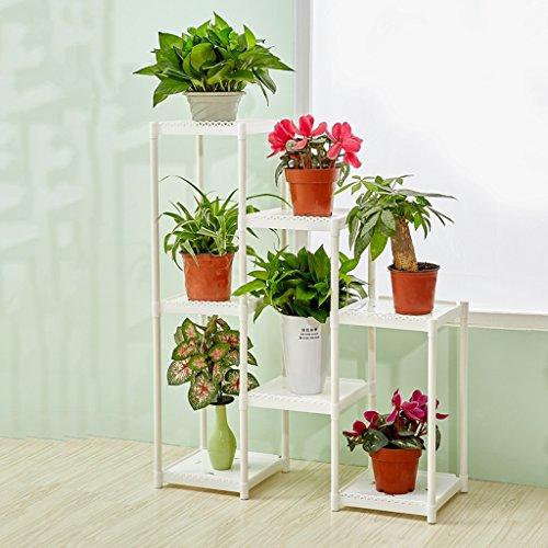 18e3a4e57303 Fu Man Li Trading Company Ensemble de fleurs multi-étages combinaison  créative salon balcon étagère