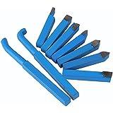 cnbtr 10mm Azul YT15aleación carbide-tipped Insertar Herramienta de corte conjunto cortador de giro de torno Herramientas Bit–Pack de 9