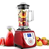 Smoothie Maker Power Mixer Standmixer Profi-Standmixer mit LED-Touch-Display