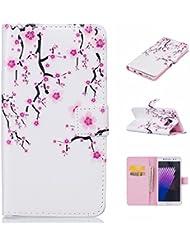 iPhone 7Funda de piel, w-pigcase coloreado dibujo o patrón pu funda de piel con un diseño exquisito y cómodo feelling para iphone 7