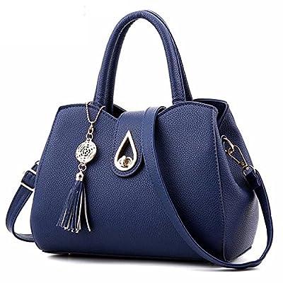 Sac à main Sacs Messenger Femmes Arrivel cuir PU Sac fourre-tout sac Femmes Tassel célèbre Top-Handle Bags