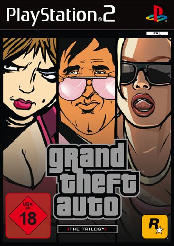 Grand Theft Auto - The Trilogy - Gta Ps2 San Andreas