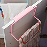 Yesiidor Halter Handtuchstange Türhandtuchhalter Handtuchhalter für Schranktür Geschirrhandtuchhalter