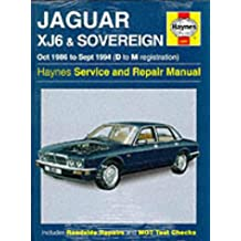 Jaguar XJ6 1986-94 Service and Repair Manual