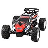 Arshiner RC Auto Car 1:24 Ferngesteuerter Racing Car Off-road Auto RC Buggy 2WD 2.4Ghz (Rot 2)