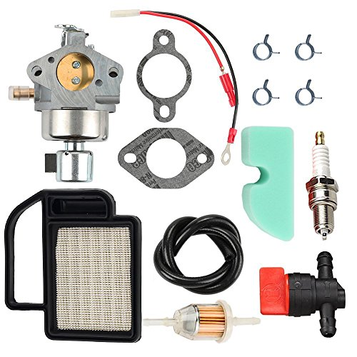 OxoxO Carburetor 20 853 33-S + 20 083 02-S Air Filter Tune Up Kit for  Kohler Courage SV470 SV530 SV540 SV541 SV590 SV591 SV600 SV601 SV610 SV620