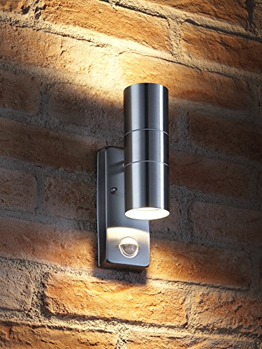 auraglow-pir-motion-sensor-stainless-steel-up-down-outdoor-wall-security-light-warm-white