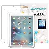 iPad Pro Schutzfolie, Repou iPad Pro 9,7 (3 Stück) iPad Air 2 iPad (2017) Schutzfolie Kristallklar Displayschutz Displayschutzfolie