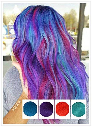 Ruban adhésif en Extensions capillaires Lot de 20/50 g 35,6 cm 40,6 cm 45,7 cm 50,8 cm 55,9 cm 61 cm 100% humains Remy Cheveux raides naturels Multicolore Pour Rainbow
