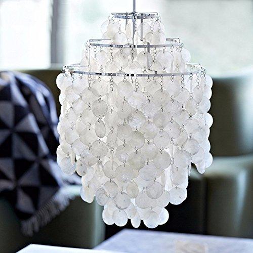 VanMe Salotto Giardino Coreano Resina Shell Personalità Creativa Minimalista Moderno Stile Ristorante Chandelier Illuminazione 45 * 60Cm