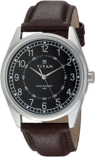 Titan Neo Analog Black Dial Men's Watch-1729SL02