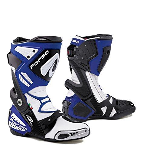 FORMA Stivali Moto Ice PRO Certificazione di Approvazione, Blu, 42