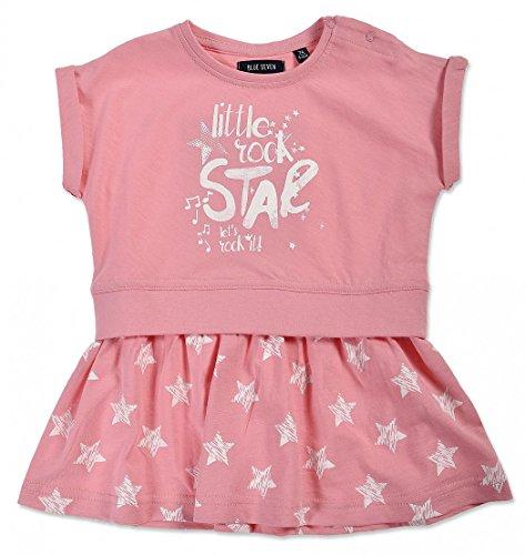 chen Kleid Shirtkleid ROCKSTAR mit Sternen Art. 911013 (74, LACHS ORIG) (Rockstar Dress)