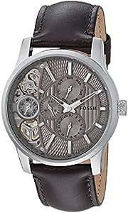 Fossil End of Season Mechanical twist Chronograph Brown Dial Men's Watch - ME1098