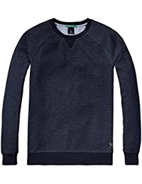 SCOTCH AND SODA Hommes Crew Neck Sweater Night