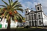 Alu-Dibond-Bild 120 x 80 cm: 'Azores - Island Of Pico - Church in Lajes do Pico', Bild auf Alu-Dibond