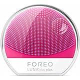 Fore Luna Play Plus - Cepillo facial recargable de silicona, color fuchsia