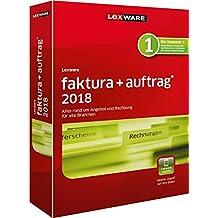 Lexware faktura+auftrag 2018 basis-Version Minibox (Jahreslizenz) / Einfache Auftrags- & Rechnungs-Software für alle Branchen / Kompatibel mit Windows 7 oder aktueller