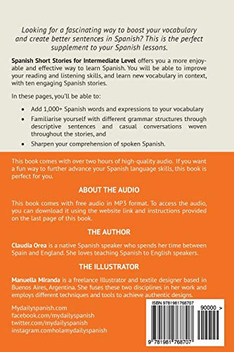 Spanish Short Stories for Intermediate Level Vol 3 Improve