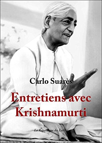 Entretiens avec Krishnamurti