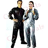 SystemsEleven Sauna Sweat Suit - Helps You Lose Weight - PVC Reduce Fat Burn Fat , Fat Burner