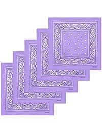 KARL LOVEN Lot de bandanas 100% Coton paisley foulard fichu bandana 20  couleurs au choix c3381a54a7b