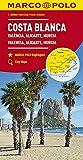 MARCO POLO Karte Costa Blanca, Valencia, Alicante, Castellón, Murcia 1:200 000: Wegenkaart 1:200 000 (MARCO POLO Karten 1:200.000) - Collectif