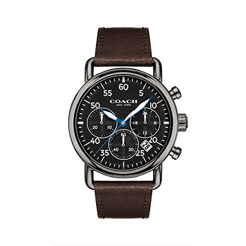 Coach Mens Watch Delancey Analog Casual Quartz Watch 14602106