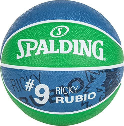 Spalding NBA Player Ricky Rubio SZ.7 83-381Z Balones