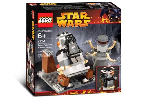 Lego Star Wars 7251 - Darth Vader Transformation