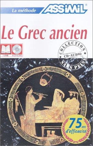 Le Grec ancien sans peine (1 livre + coffret de 4 CD)
