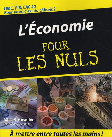 L'Economie pour les nuls par Michel Musolino