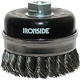 Ironside 243007 Brosse à fils métalliques 100 mm M14 pour Meuleuse d'angle