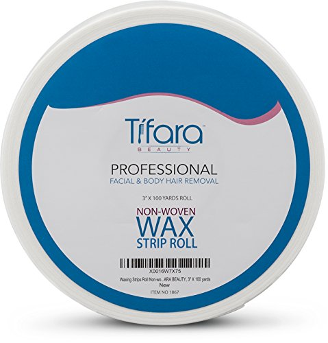 """Colossy Tifara Beauty Non Woven Body and Facial Wax Strip Roll 3"""" X 100YD"""
