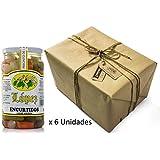 Pack 6 unidades Encurtidos Sabor Anchoa - Envase PET 550 g Peso unidad