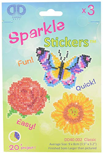 Needleart World Stickers Classic Kit Loisirs Créatifs Résine, Multicolore, 9 x 8 cm