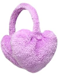 Winter Heart Shaped Winter Thermal Fashion Earmuffs in a selection of colours