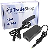 Notebook Laptop Netzteil Ladegerät Ladekabel Adapter 19V 4,74A 90W inkl. Stromkabel ersetzt SAMSUNG X360 P400 P500 E251 R60 R41 P55 R505 X22 X65 N130 X460 P710 Sa11 Q70 Q320 P51 P61 P50 Q310 Q40 X520