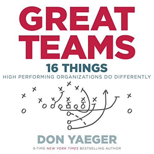 Great Teams: 16 Things High Performing Organizations Do Differently - Don Yaeger - Unabridged