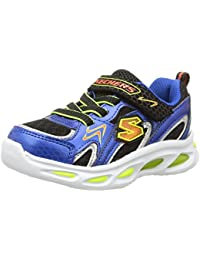 Skechers Boys' Ipox Rayz Low-Top Trainer
