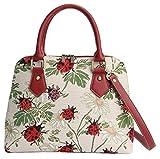 Signare Einzigartig Damen Top Griff Tasche Tapisserie Handtasche Umhängetasche Henkeltaschen/Ladybird CONV-LDBD