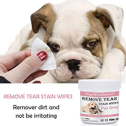 Zoom IMG-3 salviette cani per occhi detergenti