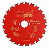 FREUD herramientas LP40M025 sierra enantema 250X30X60T...