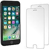 [2-Unidades] Cristal Templado iPhone 7 Protector de Pantalla Hepooya Alta Definicion sin Burbujas 9H Dureza Compatible con 3D Touch para Protector Cristal iPhone 7